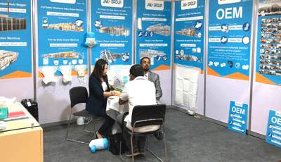 September 2018, Egypt PAPER ME paper industry exhibition