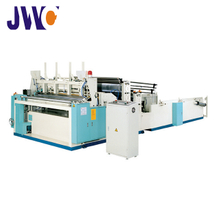 Full Automatic Trimming, Sealing, Embossing and Perforating Rewinder